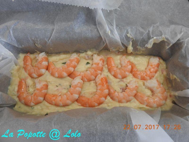 Terrine de dorade et crevettes (thermomix ou pas)