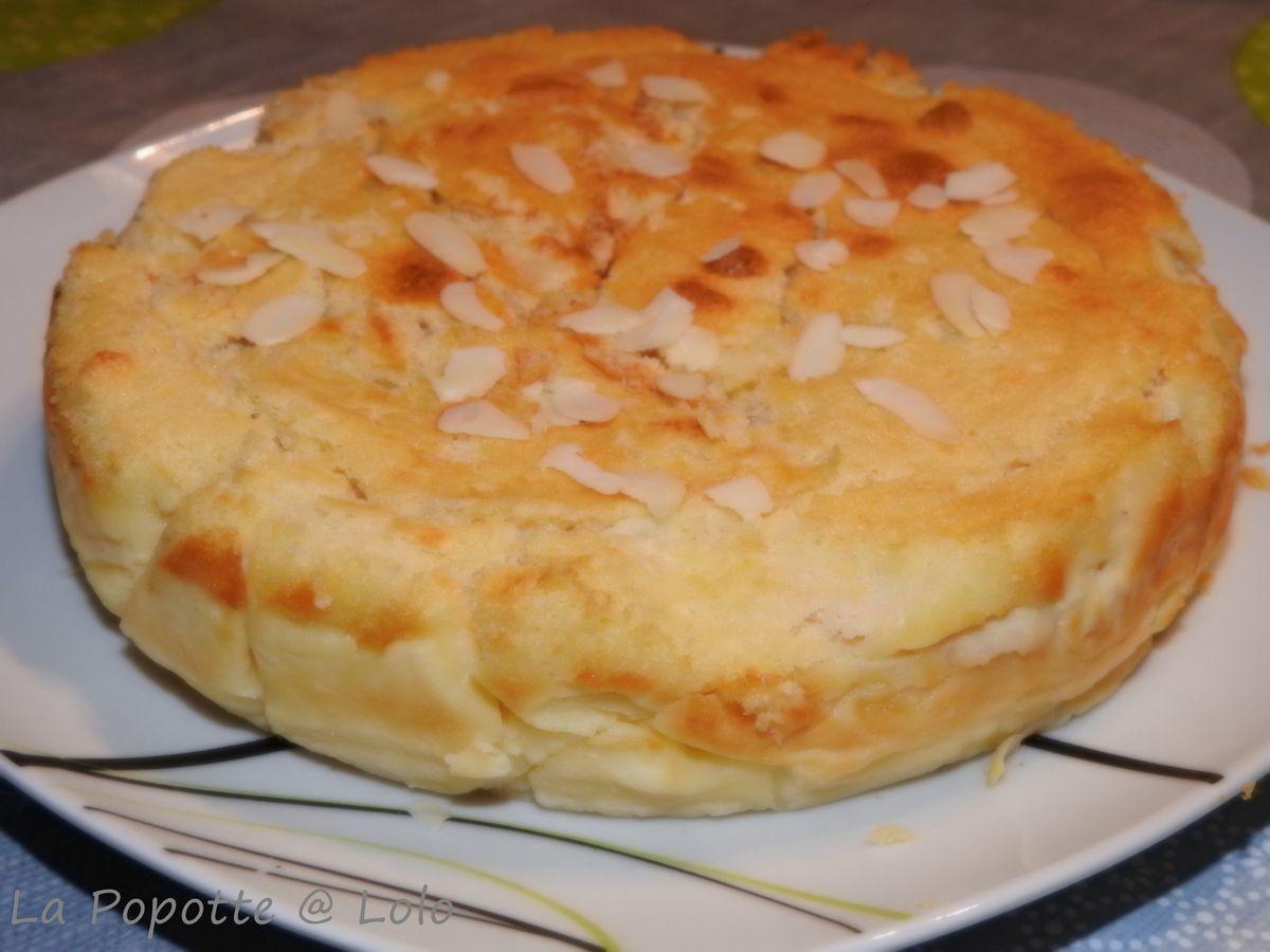 Gâteau Magique à la poire et amande
