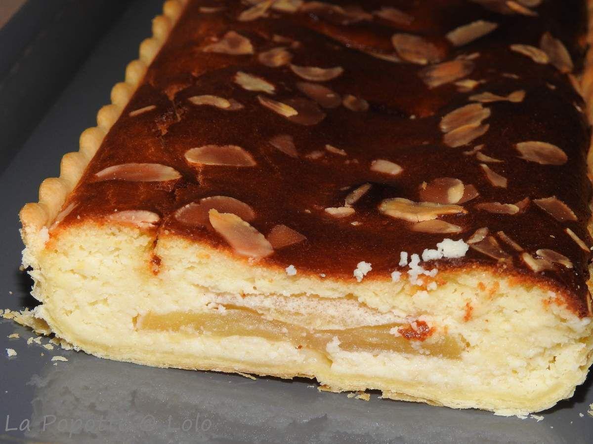 Tarte Feuilletée aux Pommes et crème d'amande