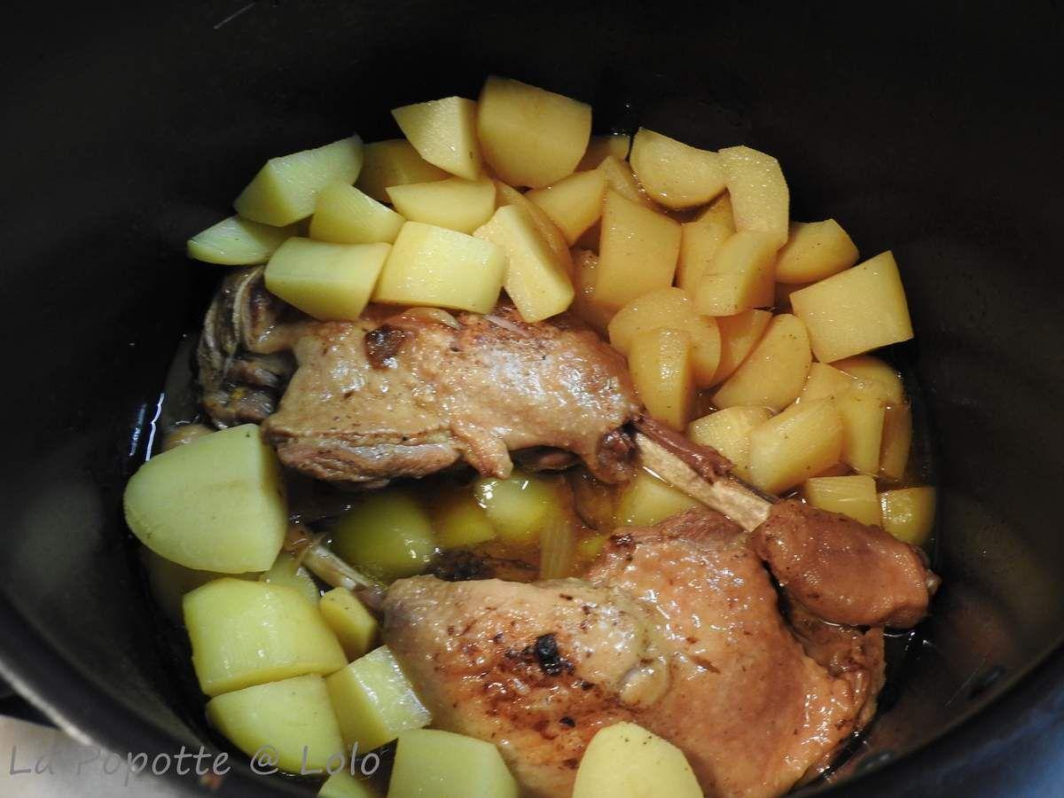 Cuisses de Canard au miel et ses Pommes de Terre (au Cookeo ou pas)