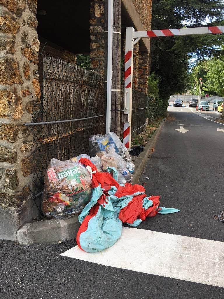 parking Carnor et rue de la Gare