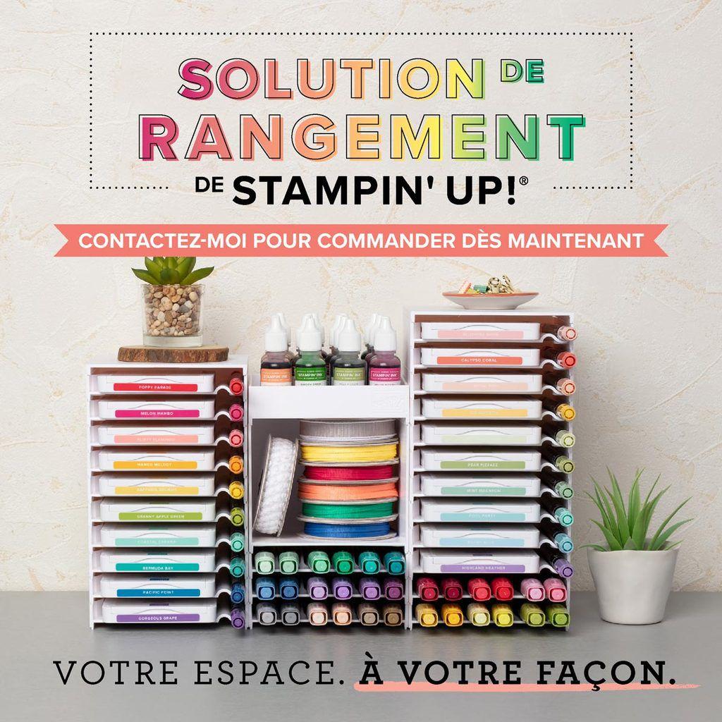 SOLUTION DE RANGEMENT STAMPIN UP