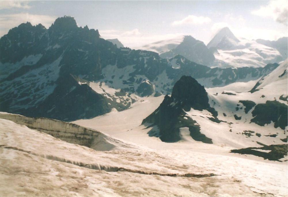 Le glacier d'Arolla