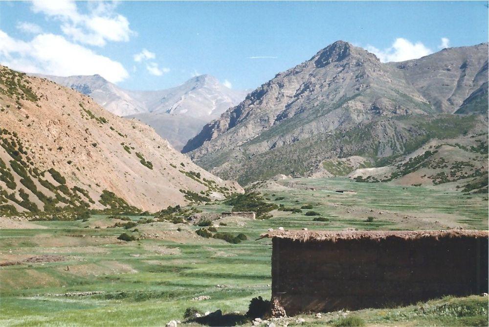 Les bergeries et les champs d'orge d'Arous