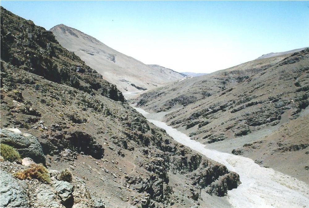Le canyon de Tamda