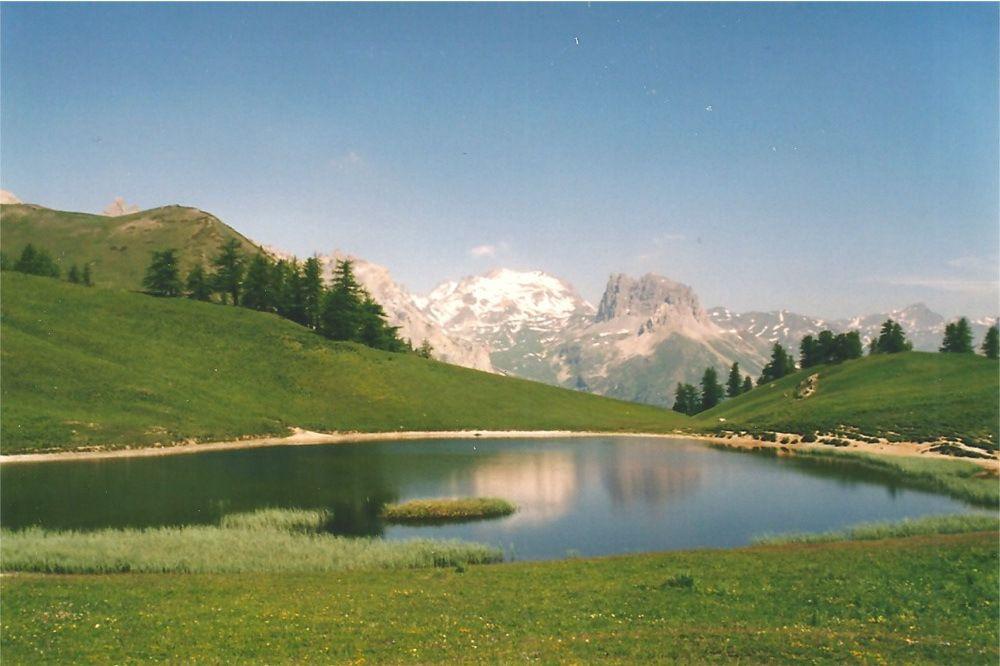 Le lac de Chavillon 2194