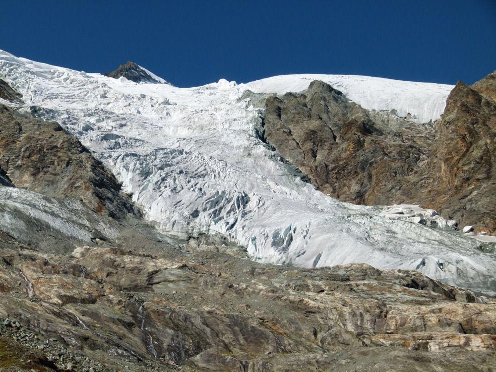 Langue du glacier de la Savinaz