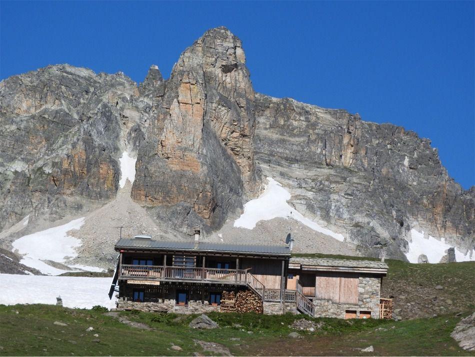 Le refuge du Mont Thabor
