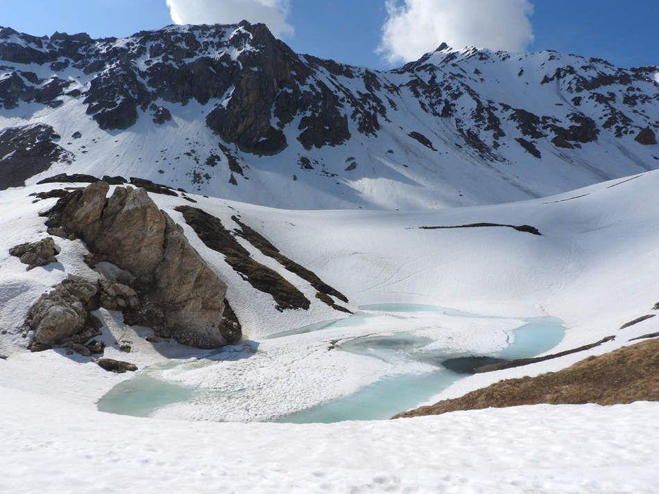 Lac combe de la Neuva