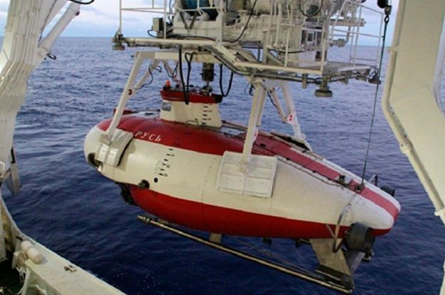 Le mini-submersible Rus. Source : MinDef russe