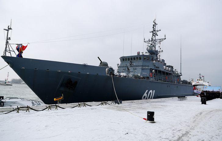 Un nouveau dragueur de mines pour la flotte de la mer Noire