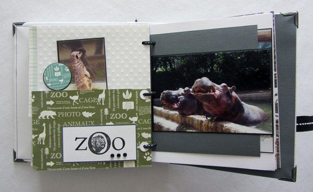 """Mini """"Au zoo"""" et son tuto"""