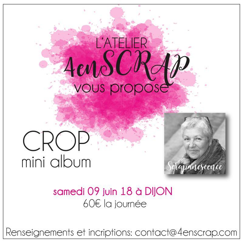 Crop 4enscrap : 9 juin 2018
