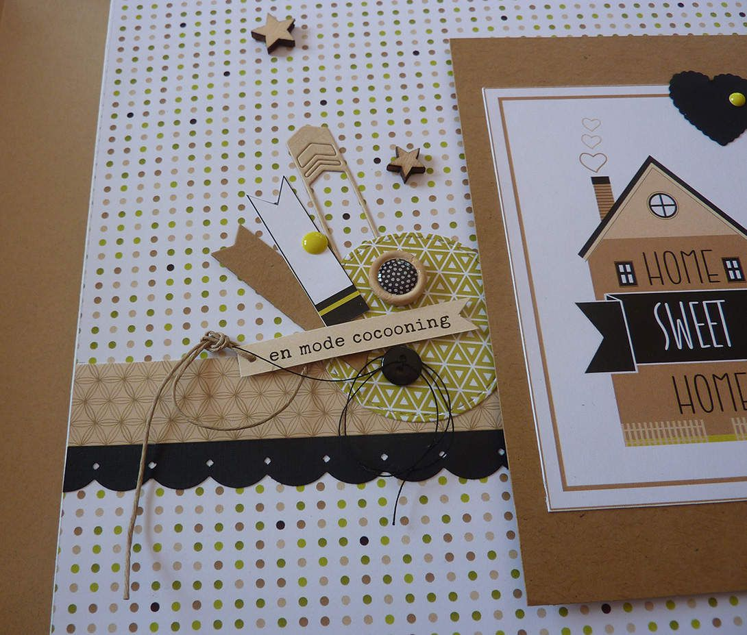 Anne : nouvel Album Home Sweet Home - Kit décembre 2016