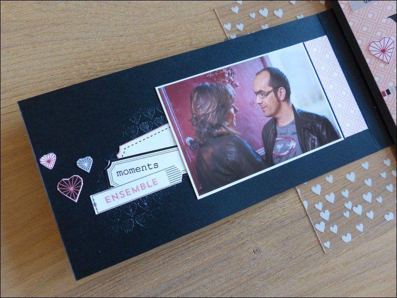 """Mylène : Album du kit du mois """" CHaque instant est précieux"""""""
