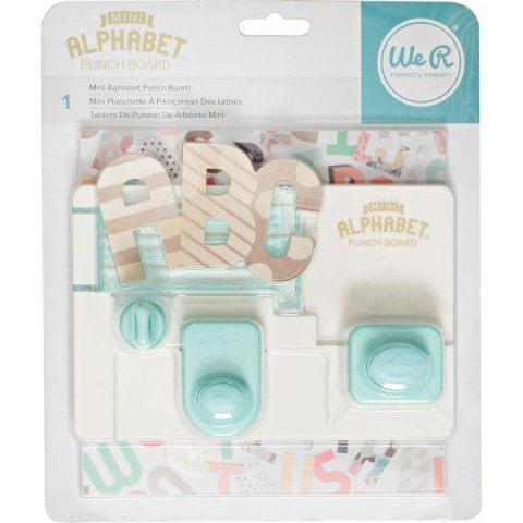 Test Produits_Mini Alphabet Punch Board