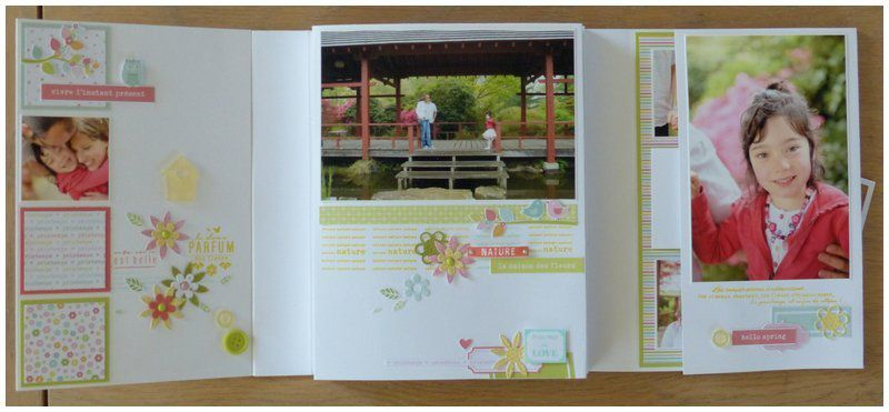 """Mylène : Album """"La douceur du printemps"""" - Kit d'Avril"""