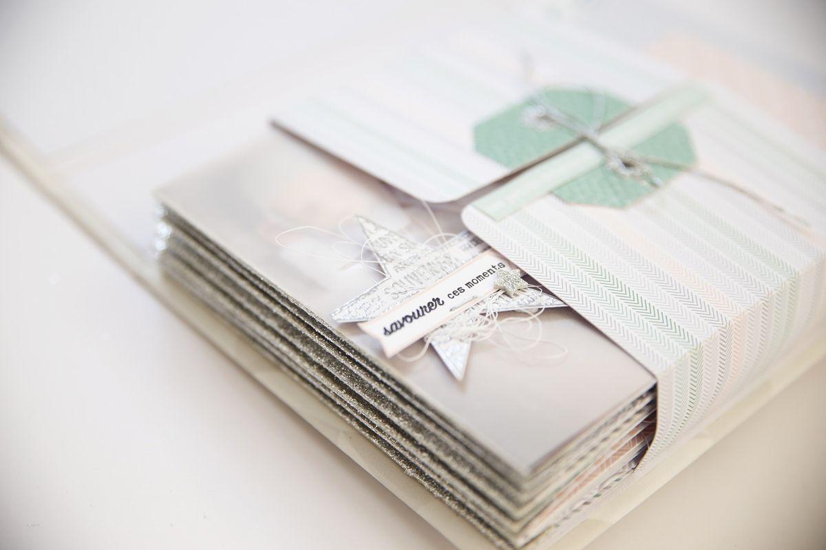 """Annliz : Kit du mois mini album """"jolis souvenirs"""" visuel"""