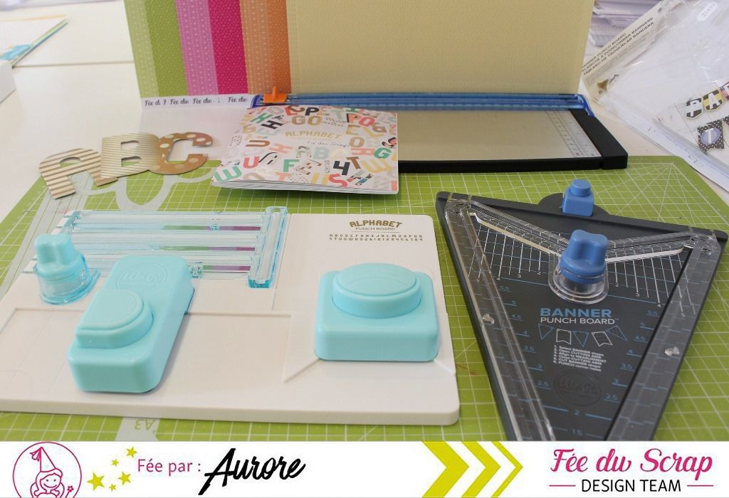 Test Produit_Banner Punch Board (&Alpha Punch Board)
