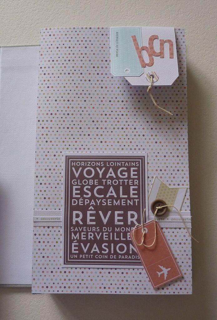 Anne : Kit du Mois - Album Voyage de Rêve