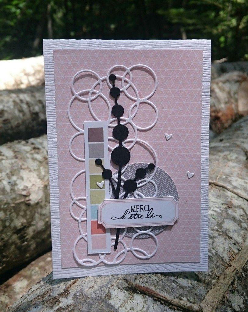 """Stephscrap87  4 cartes avec la collection """"un air de voyage"""""""