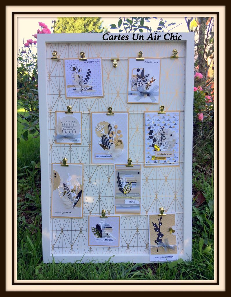 Barbara : Cartes Un air Chic