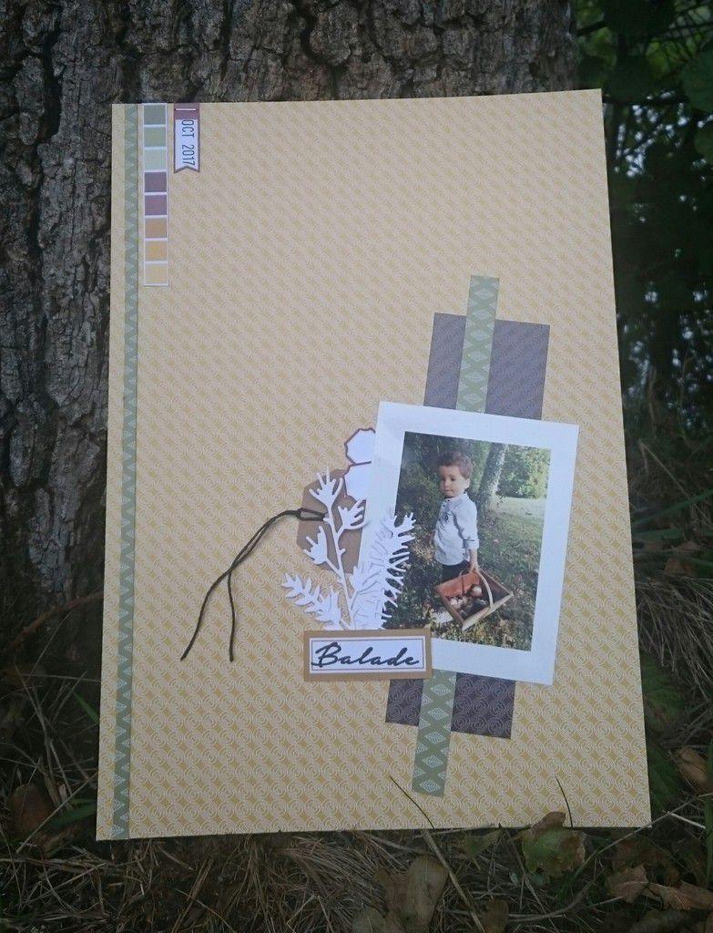 Stephscrap87  quelques pages et cartes