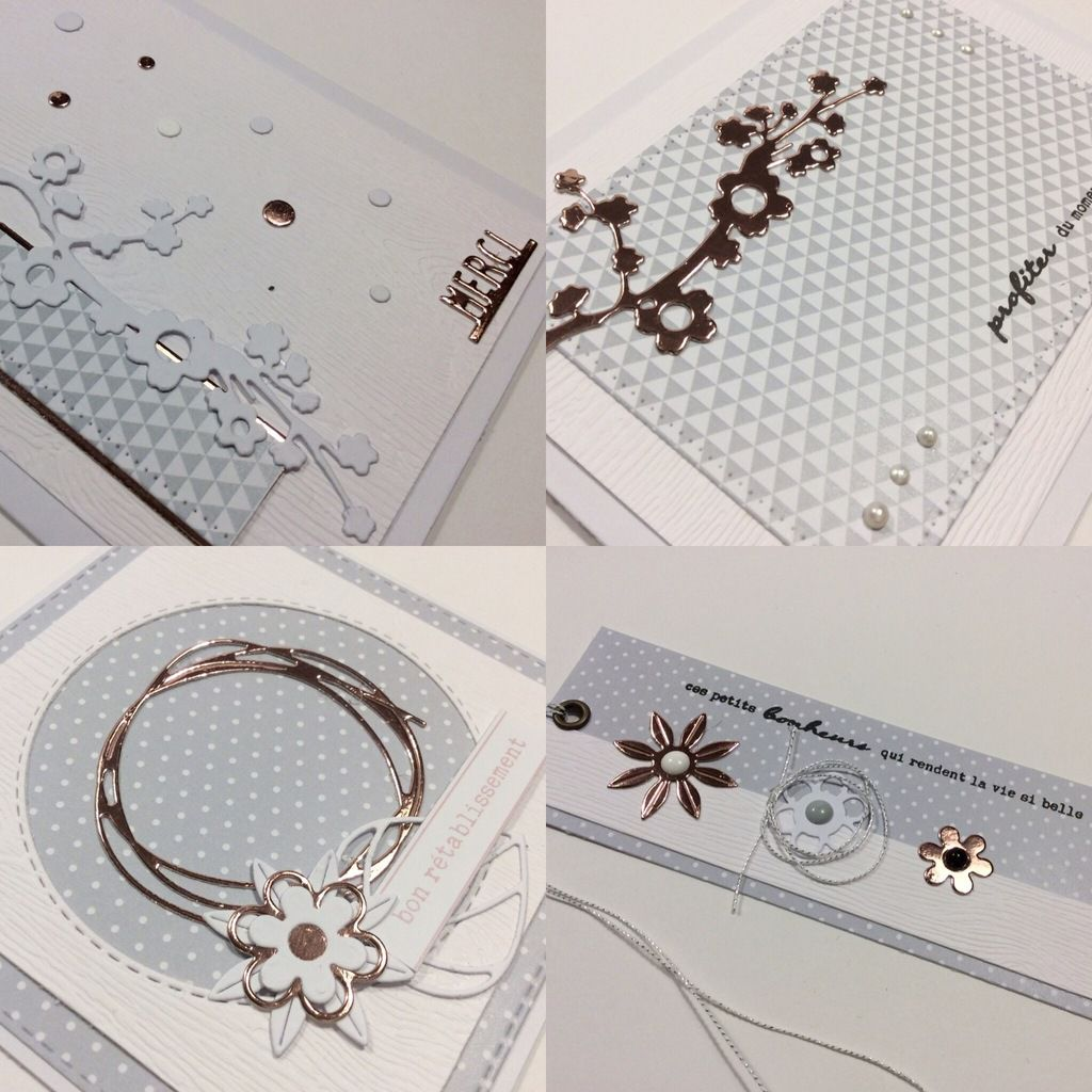 Nathaly : Cartes et marque page....