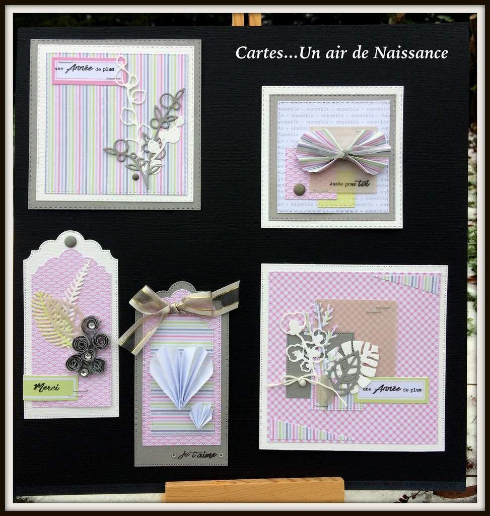 Barbara : Cartes et objets... Un air de Naissance (Fille)