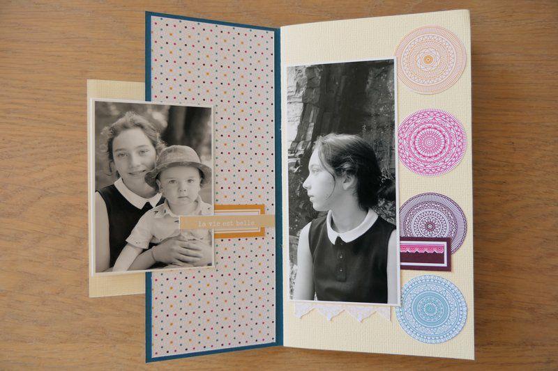 """Mylène : Album kit du mois """"Bonheur - Instant magique"""""""