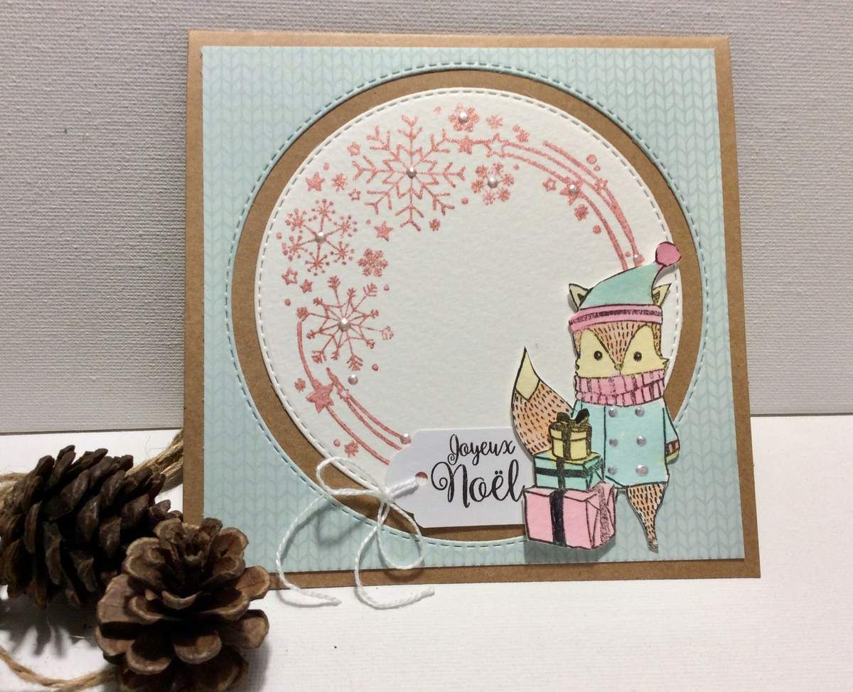 Nathaly : Couronne de Noël et quelques cartes.