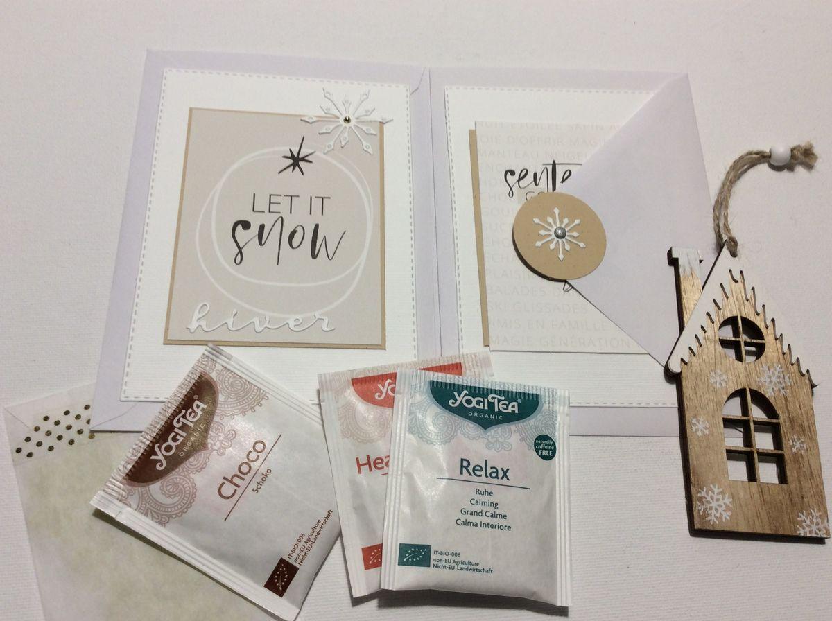 Nathaly :  Un ensemble cadeaux avec un flipbook et un carnet.