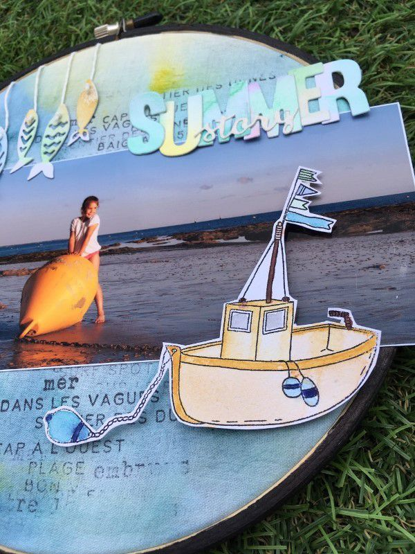 Aur0re_Home deco « Summer story »