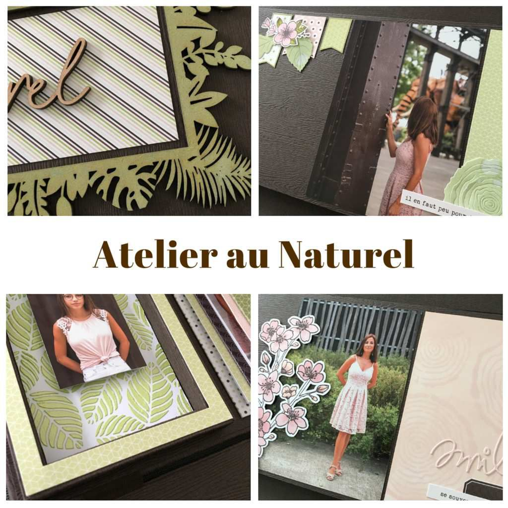 "Lydie - album atelier ""au naturel"""