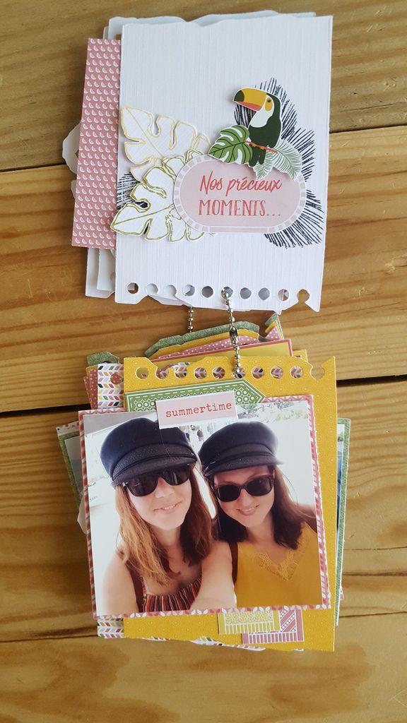 """Julie - Mini-Album """" Enfin les vacances !"""""""