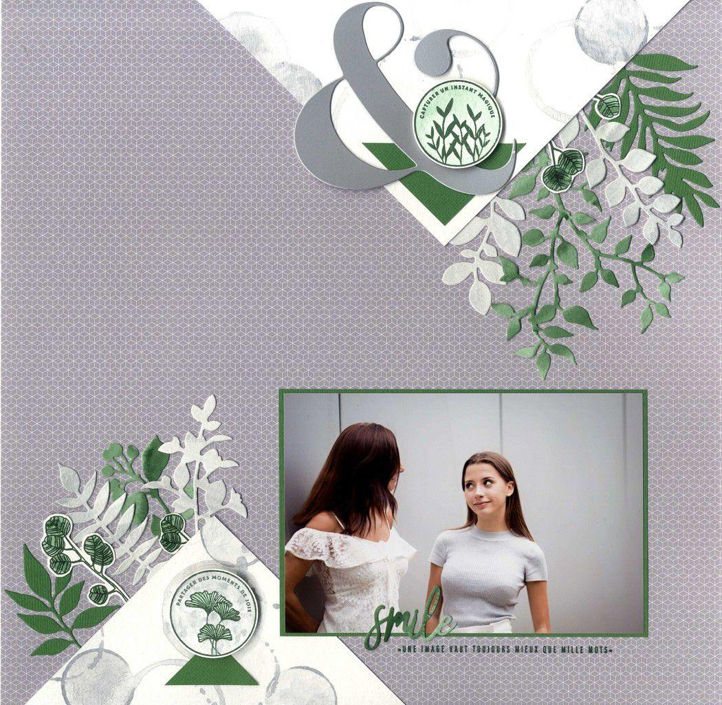 Lydie - page aquarelle
