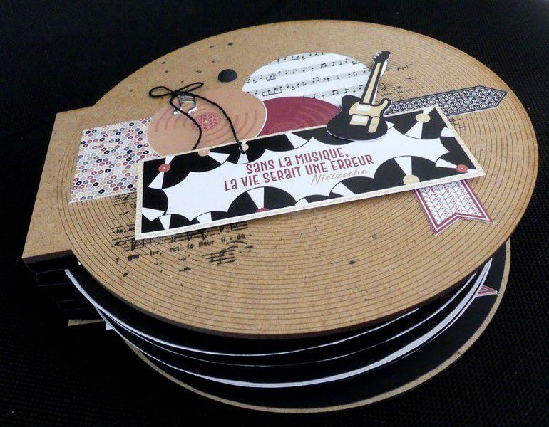 """Valérie49 : Kit du mois """"Un air musical"""""""