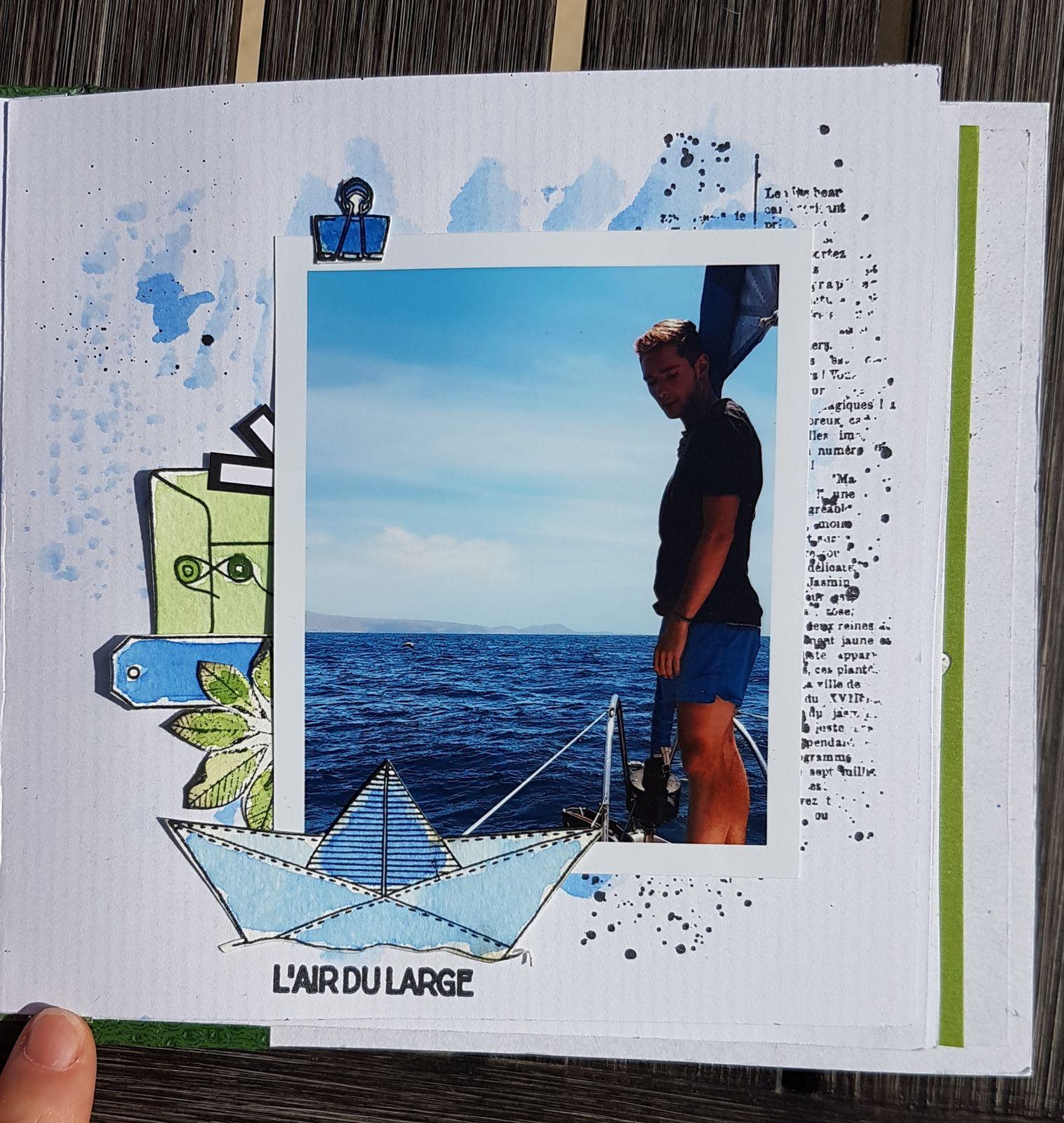 Stephscrap87 .... mini-album voyages