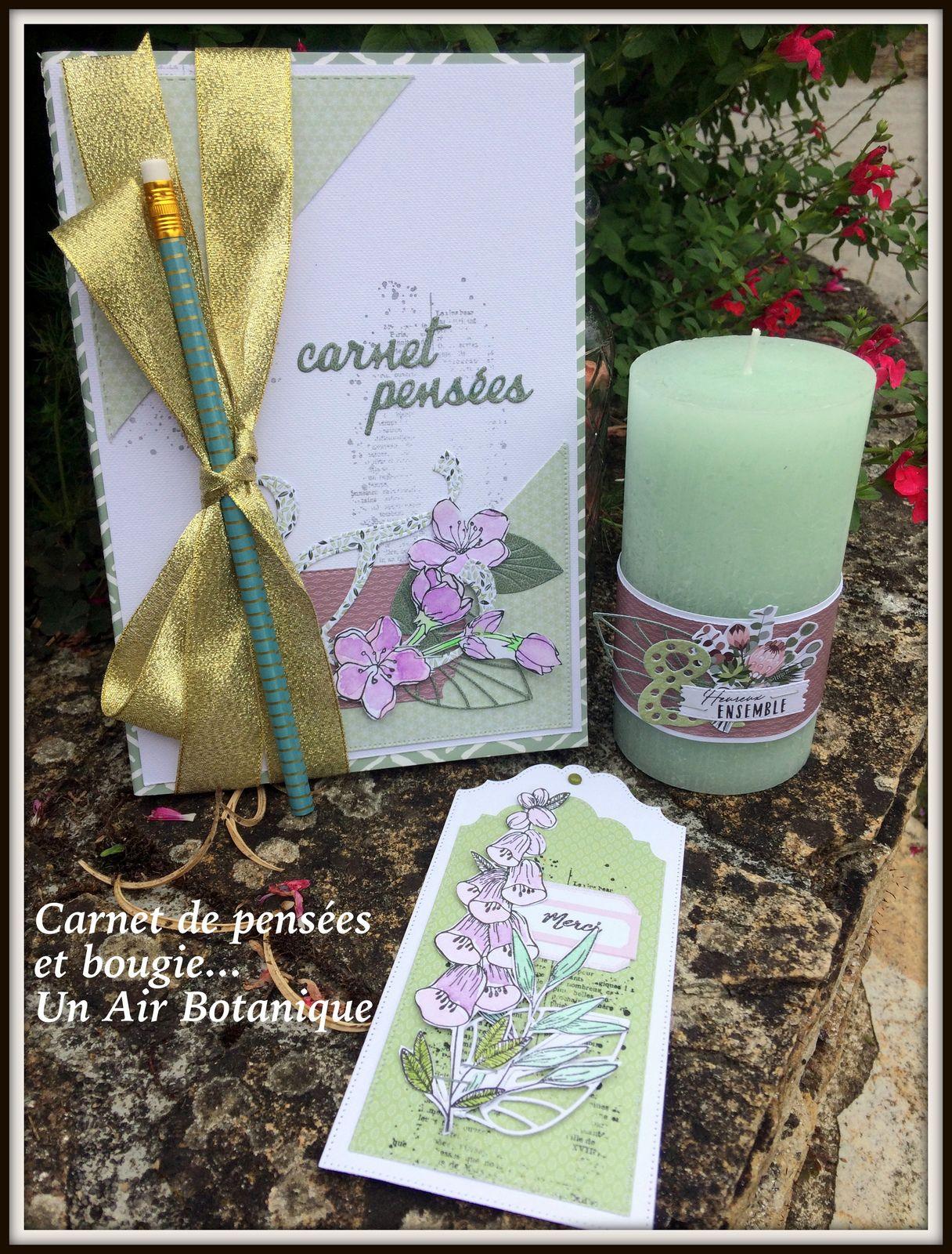 Barbara : Carnet de pensées et Bougie