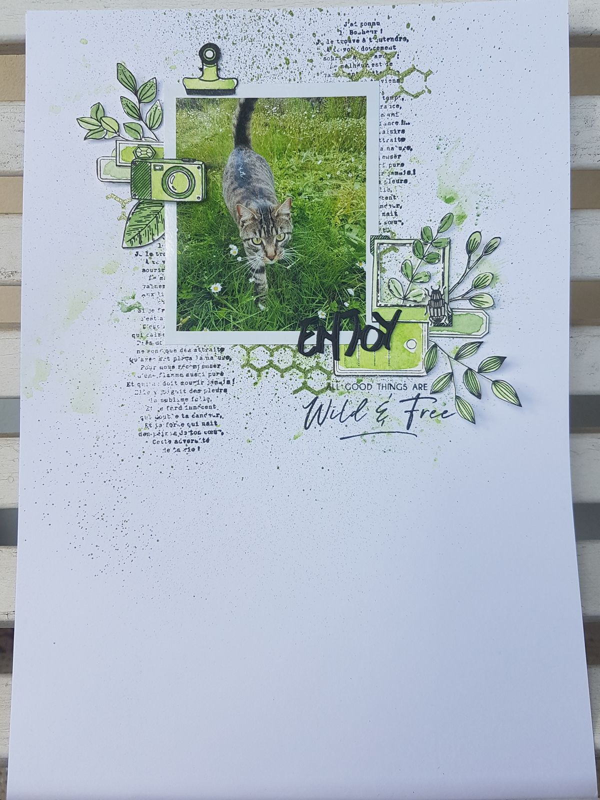 Stephscrap87....3 pages...1 carte...