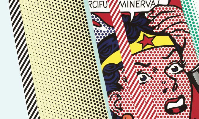 """""""Roy Lichtenstein, mostra, Milano"""" (Exposition Roy Lichtenstein àMilan)"""
