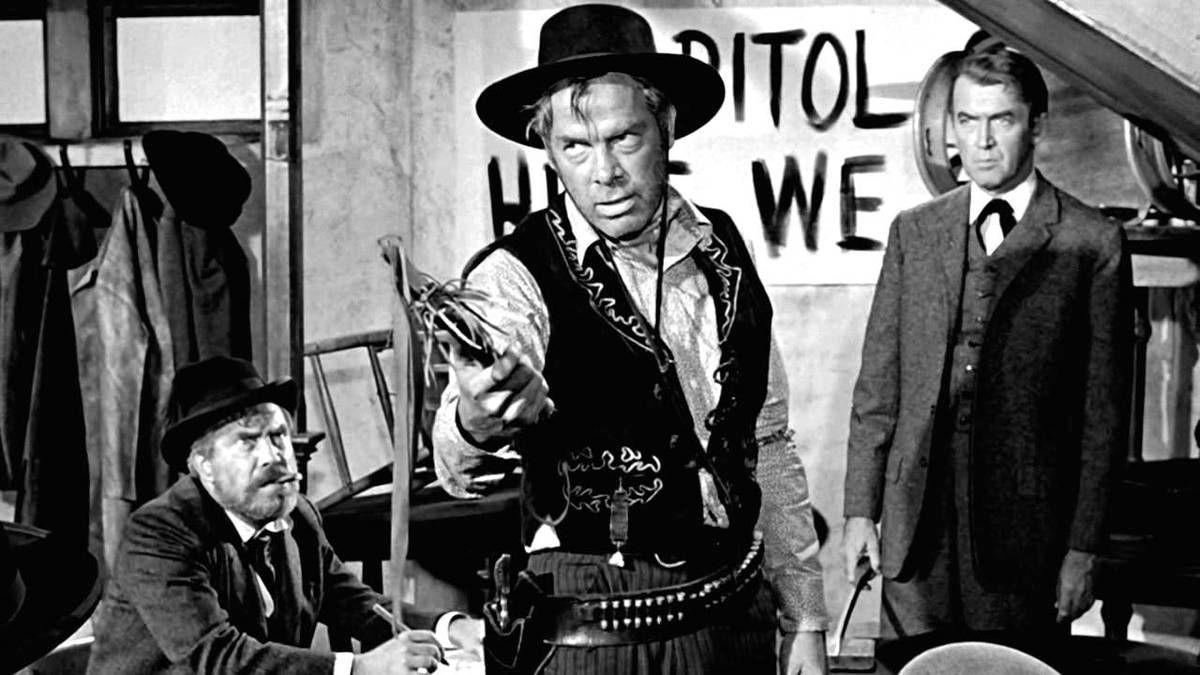"""""""L'Homme qui tua Liberty Valance"""" (John Ford - 1962)"""