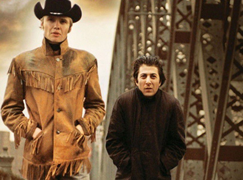 """Midnight Cowboy "" (Macadam Cowboy- : John Schlesinger, 1969 : Harry NiIsson, ""Everybody's talkin"""