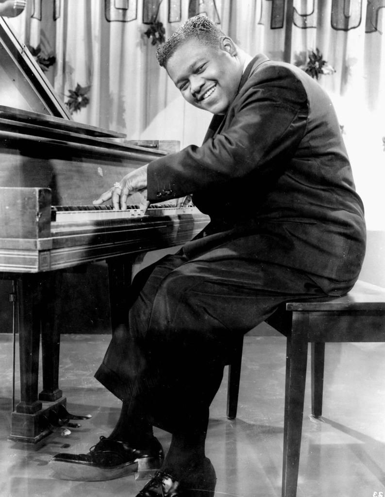 """Fats Domino, """"Ain't That a Shame"""" (1955) & """"Blueberry Hill""""  (1956)"""