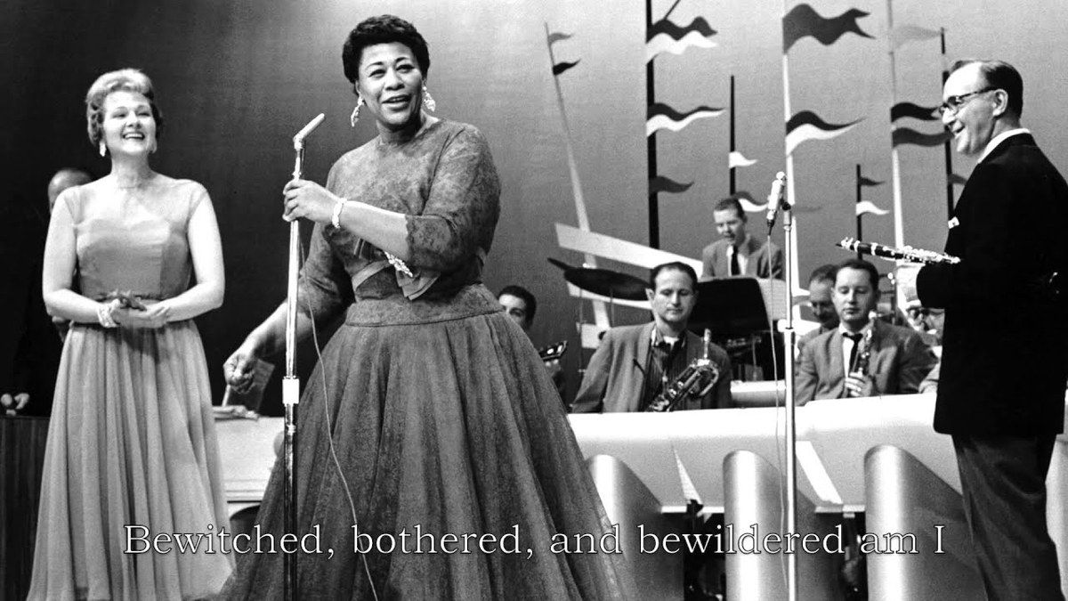 "Ella Fitzgerald, ""Bewitched, Bothered and Bewildered"" - 1956"