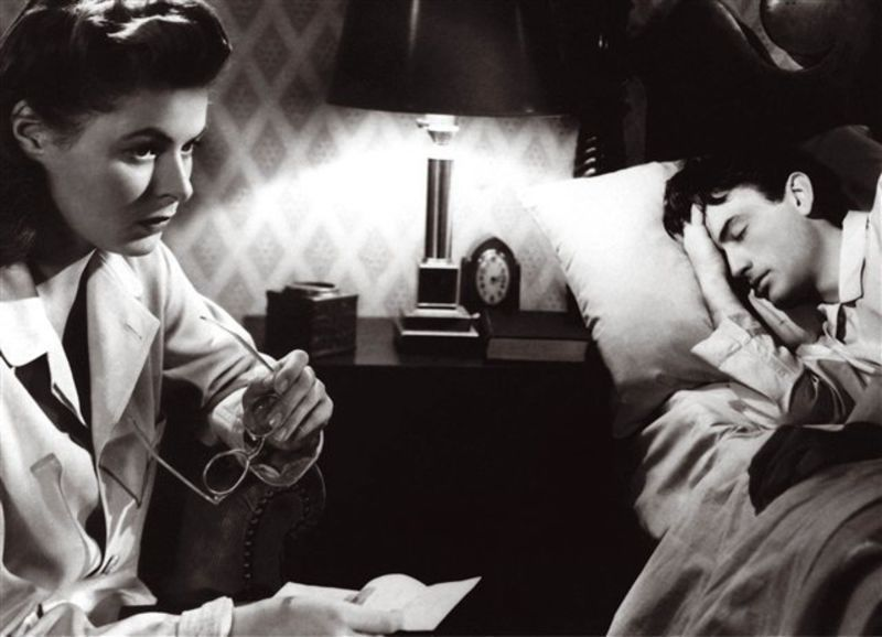"Entre hallucination, rêve et fantasme : Hitchcock & ""Spellbound"""