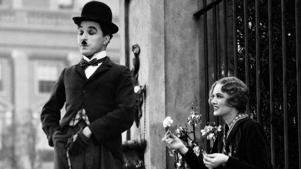 """Chaplin, """"Les Lumières de la ville"""" (1931)"""