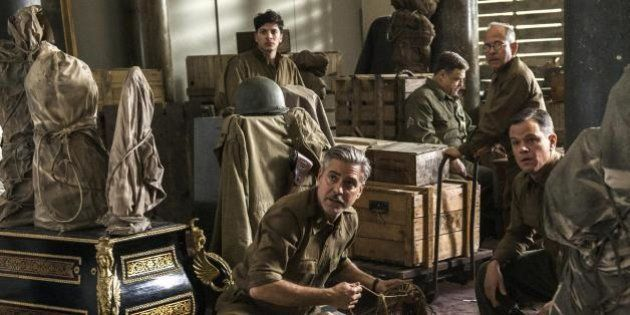 "George Clooney, ""Monuments Men"" (2014)"