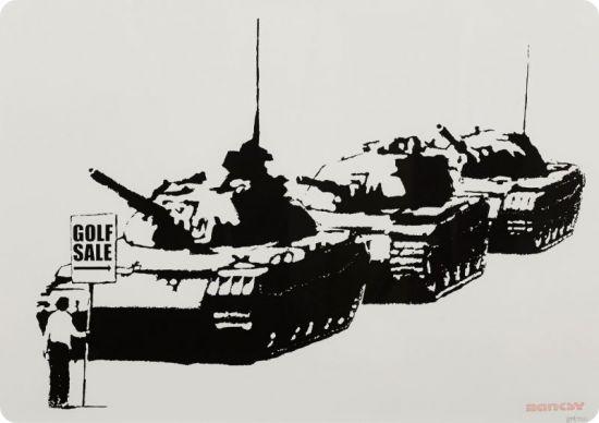 "Banksy, avisual protest"": lo street artist misterioso da marzo in mostra aRoma (""Banksy, un contestataire visuel "" : le mystérieux street artist exposé àRome àpartir demars)"