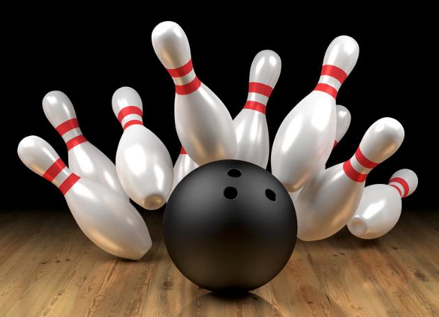 Le bowling est un jeu avec 6 ou 10 quilles